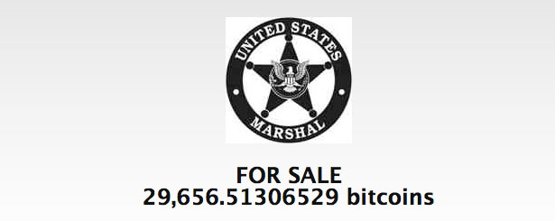 US Marshal Auction Bitcoins